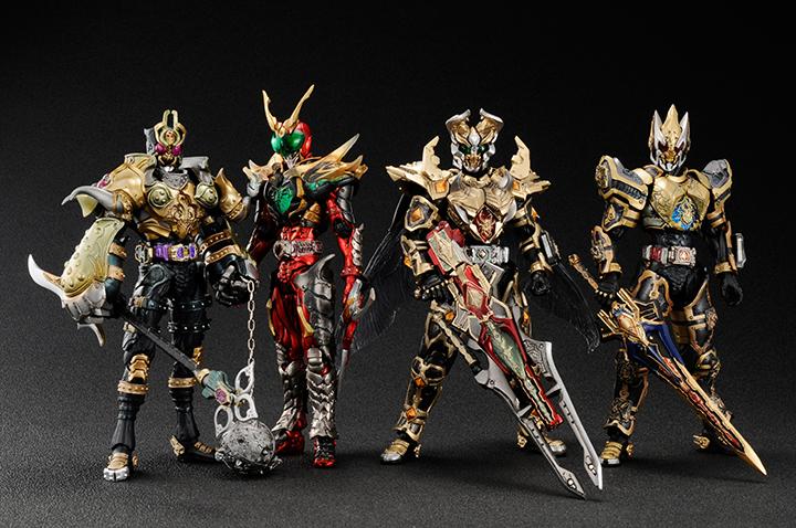 Super Imaginative Chogokin Kamen Rider Garren King Form Revealed ...